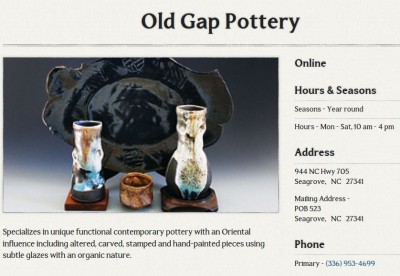 Old Gap Pottery