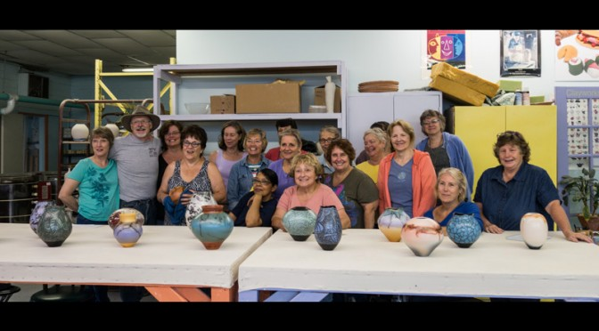 AUGUST 30TH Part 2: A NAKED RAKU FIRING WITH LINDA AND CHARLIE RIGGS